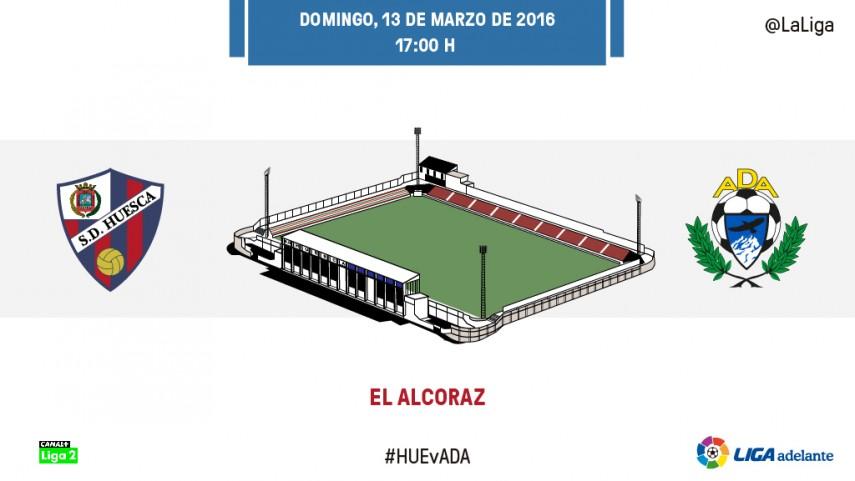 El Alcoraz mide las opciones de play-off del Alcorcón
