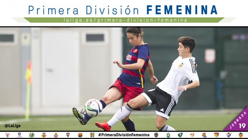 El VCF Femenino - FC Barcelona, foco de todas las miradas