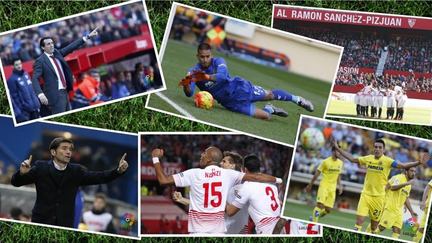 ¿Dónde puede decidirse el Sevilla - Villarreal?