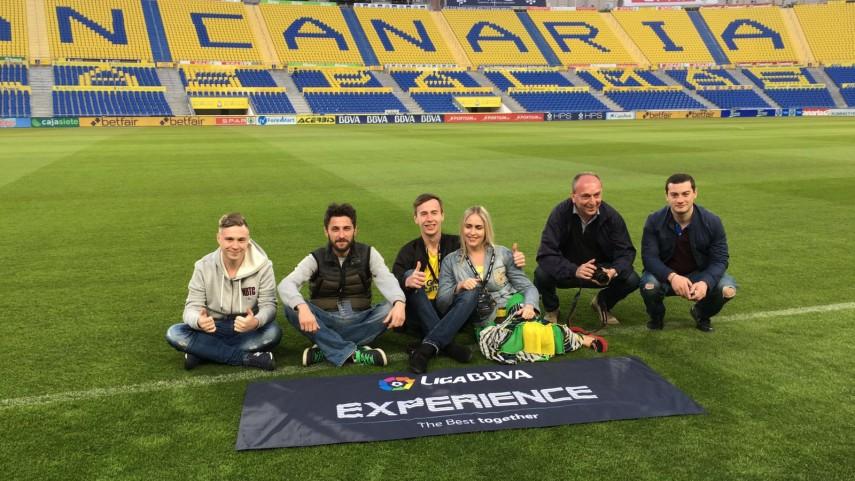 Gran Canaria deslumbra a los fans internacionales de la #LigaBBVAExperience