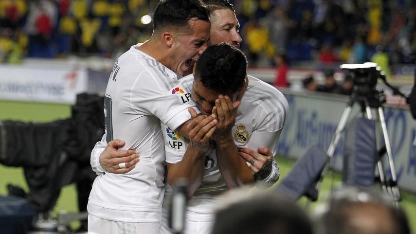 Casemiro salva los tres puntos para el Real Madrid