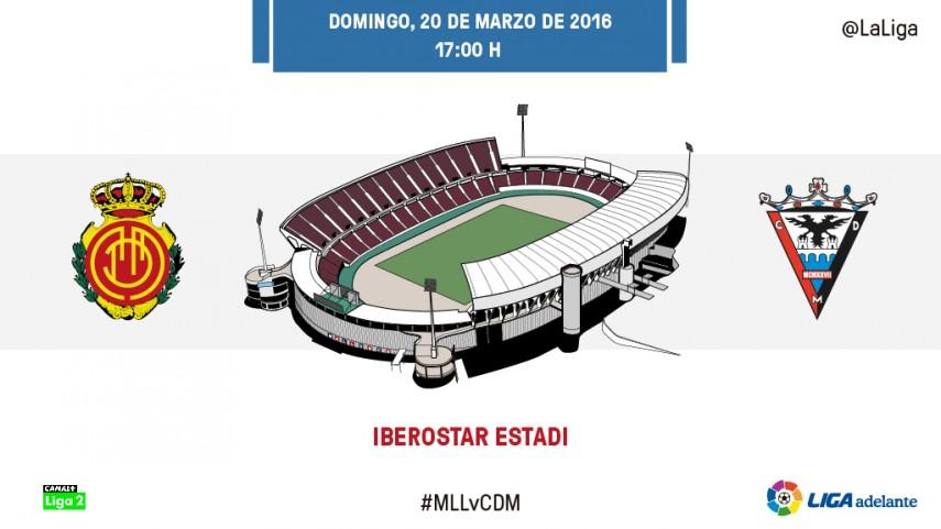 El RCD Mallorca quiere seguir sumando a costa del CD Mirandés