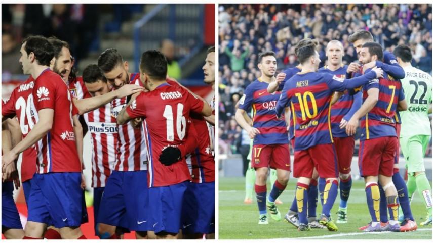 Atlético y Barcelona buscan los cuartos de la Champions