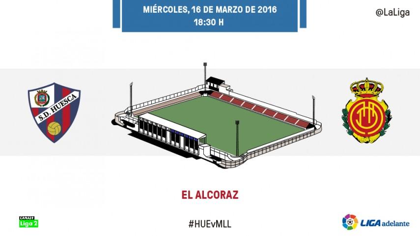 Primer envite por la permanencia para Huesca y Mallorca