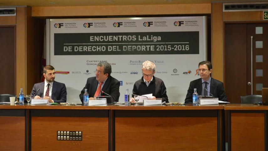 8º Encuentro LaLiga de Derecho del Deporte 2015-2016