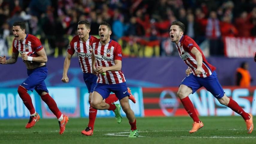 Los penaltis clasifican al Atlético para cuartos de la Champions