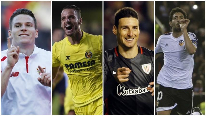 Cuatro equipos de LaLiga, en busca del sueño de cuartos en la Europa League