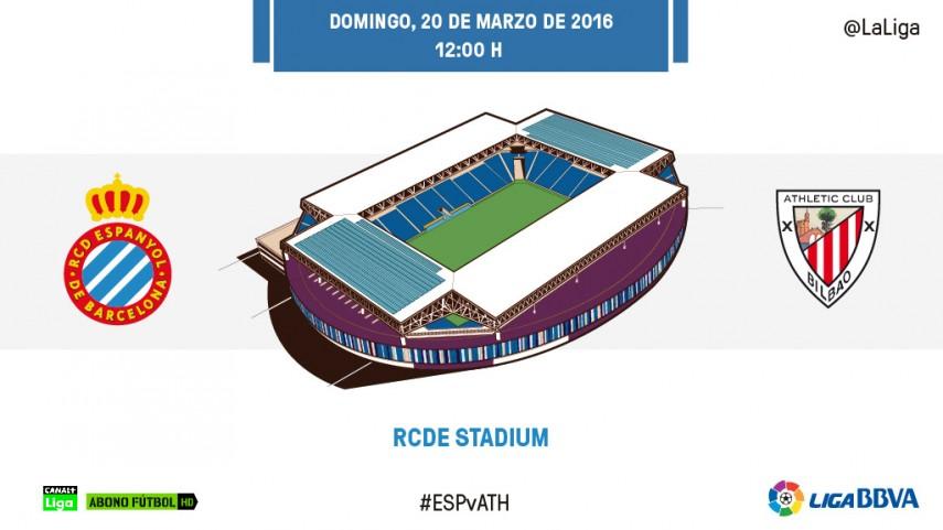 El Espanyol quiere poner freno a la racha triunfal del Athletic