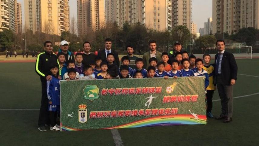 El Real Oviedo abre su primera escuela en China