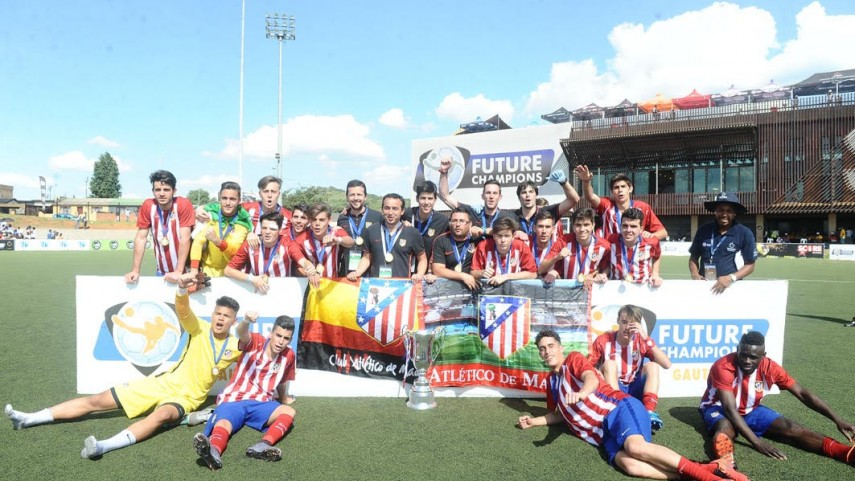 El Atlético de Madrid, campeón del Future Champions Gauteng International Tournament