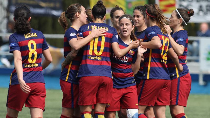 El FC Barcelona Femenino quiere seguir soñando en Europa