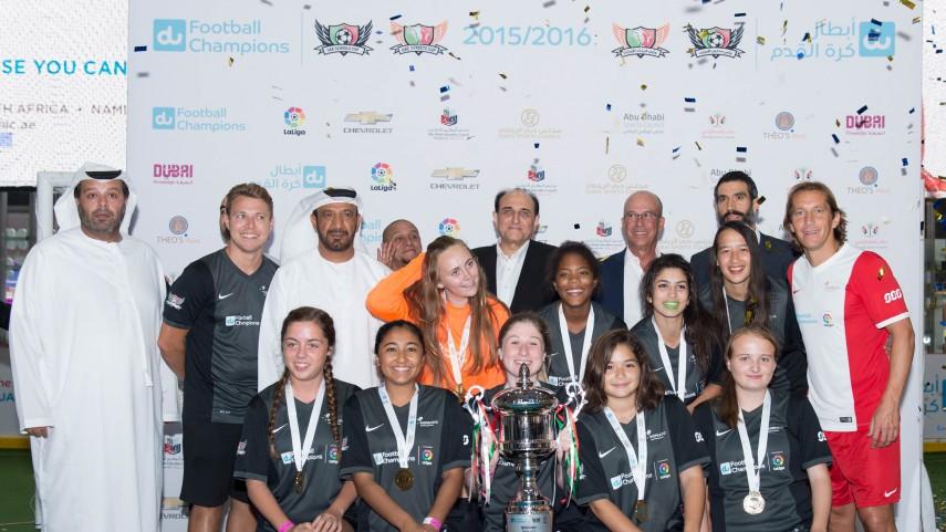 Los torneos UAE Schools & Streets Cups ya conocen a sus campeones