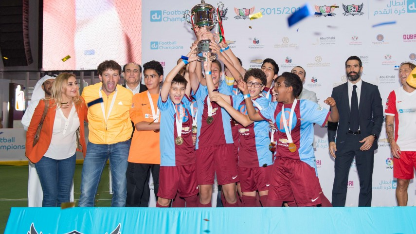 LaLiga apoya la final del exitoso campeonato UAE Schools & Streets Cups en Dubái