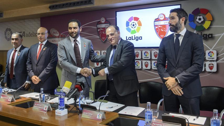 LaLiga y Al-Ahli firmaron un acuerdo de colaboración