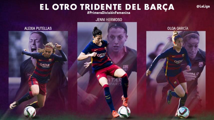 El otro tridente del FC Barcelona