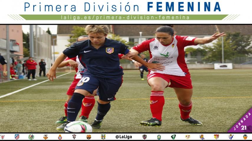 #FindeEnFemenino con la jornada 21 de la Primera División Femenina