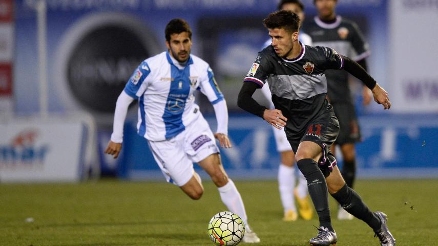 El CD Leganés cede terreno en la Liga Adelante