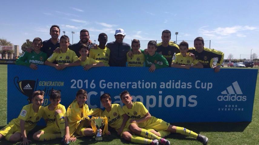El Villarreal se proclama campeón de la Generation Cup Sub-12