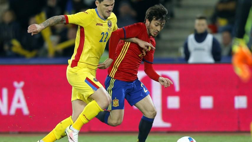 Nuevo empate de España en Rumanía