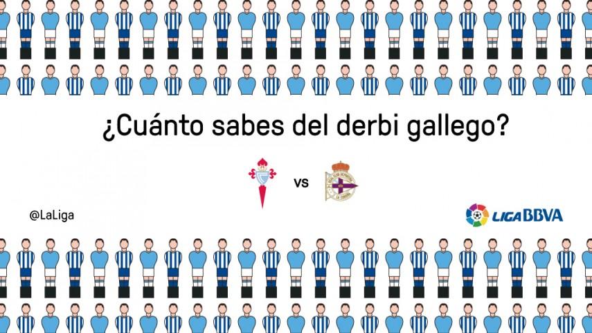 ¿Cuánto sabes del derbi gallego?