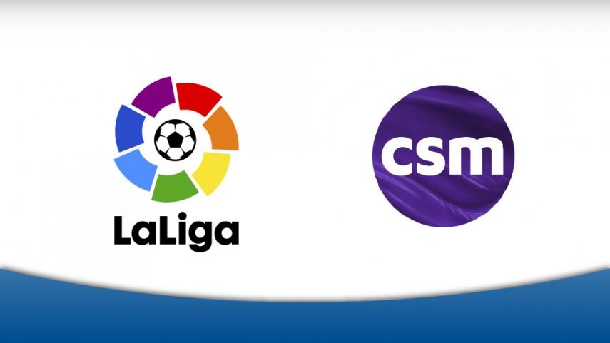 LaLiga elige a CSM Sport & Entertainment para gestionar en exclusiva los derechos globales de patrocinio