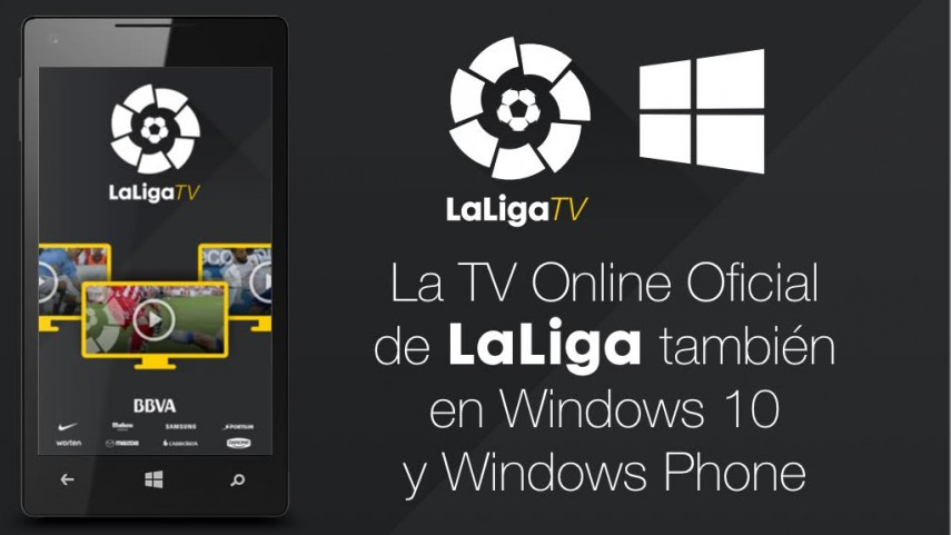 LaLiga TV, ya disponible para Windows