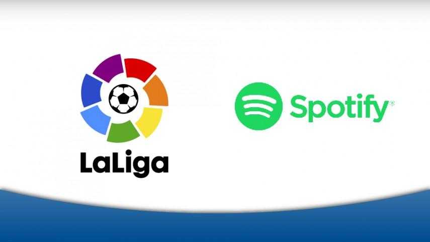 LaLiga y Spotify te traen la música del fútbol español