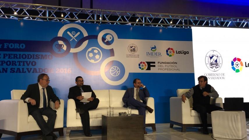 Concluido con éxito el primer Foro de Periodismo Deportivo de San Salvador