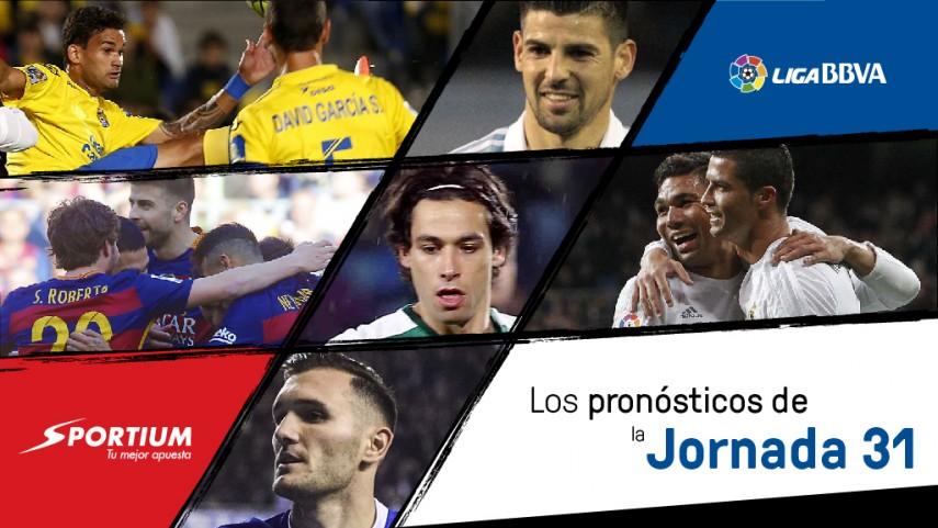 Los pronósticos de la jornada 31 de la Liga BBVA
