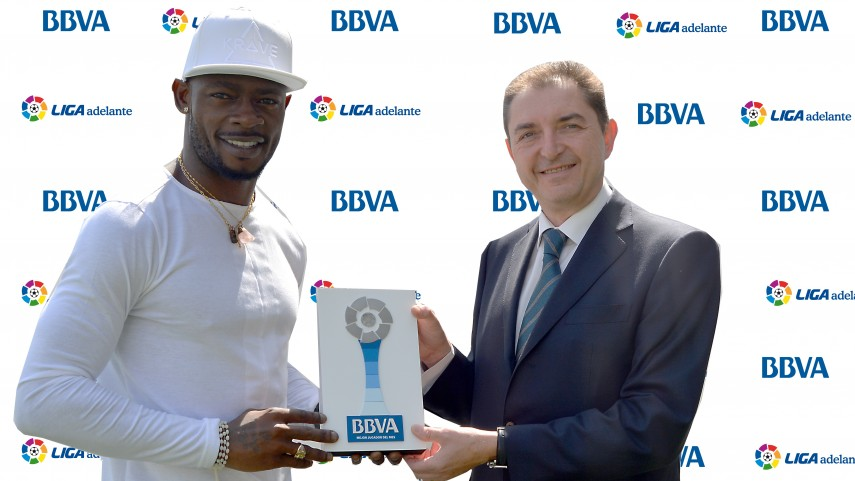 Achille Emana named Liga Adelante Player of the Month for March