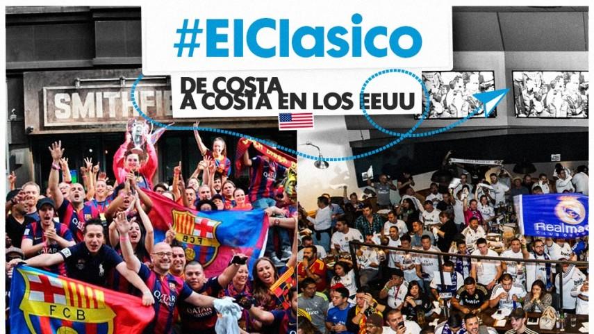 #ElClásico se verá en Estados Unidos de costa a costa
