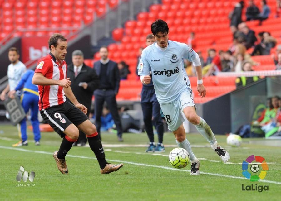 Suzuki debutó como jugador grana | Foto: LaLiga.