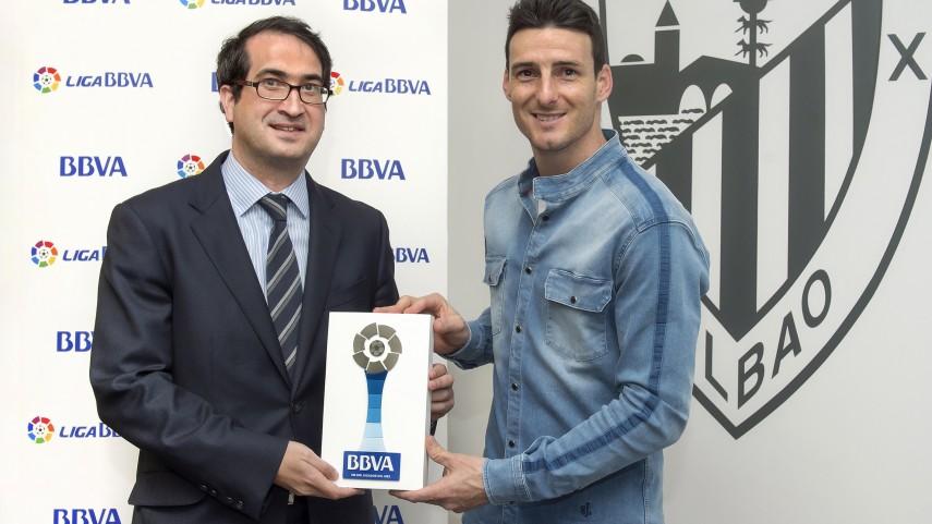 Aduriz, Mejor Jugador de la Liga BBVA en Marzo