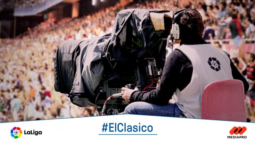#ElClásico, calidad en el césped y en la televisión