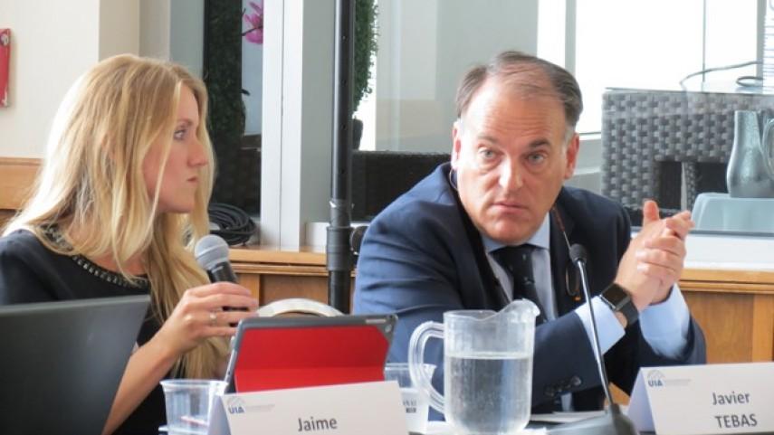 LaLiga participó en el Congreso de la Unión Internacional de Abogados