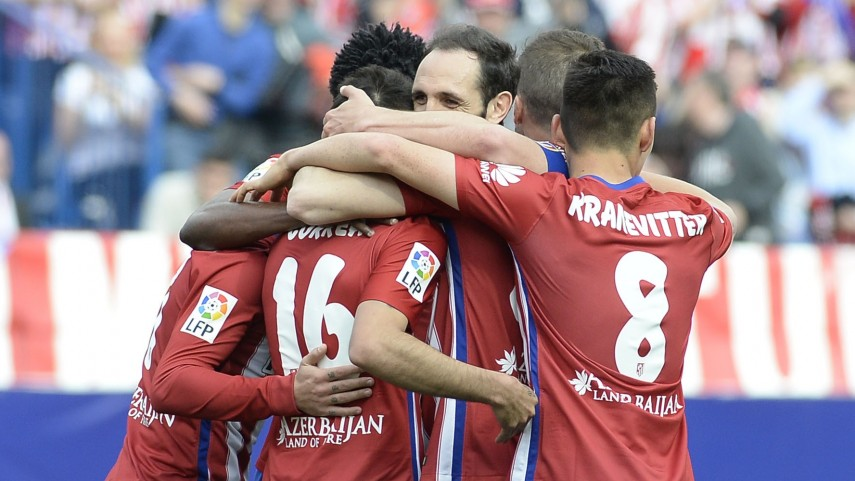 El Atlético no pierde la esperanza
