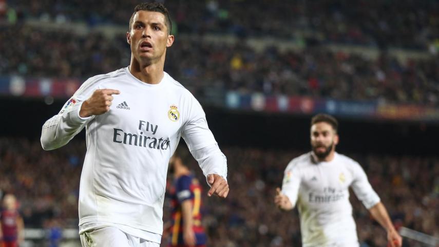 Cristiano Ronaldo decide #ElClasico