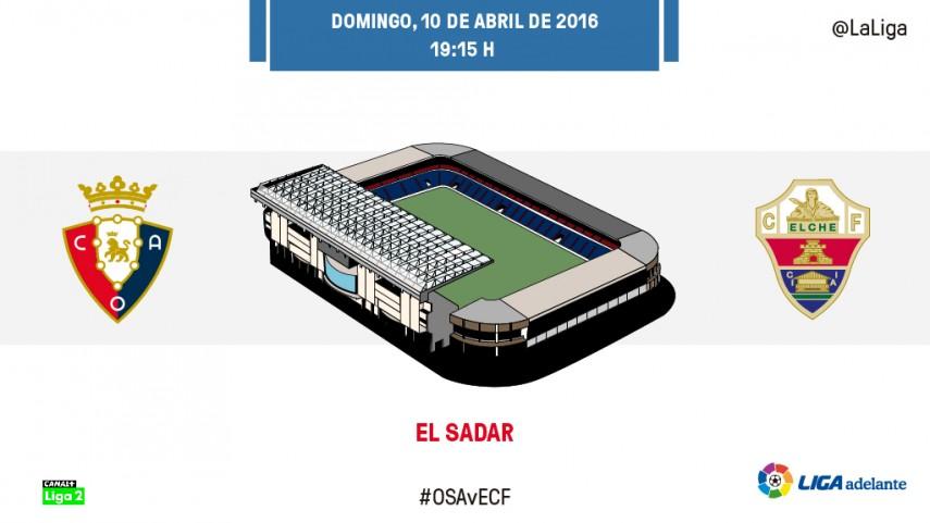 Batalla crucial por el play-off en El Sadar