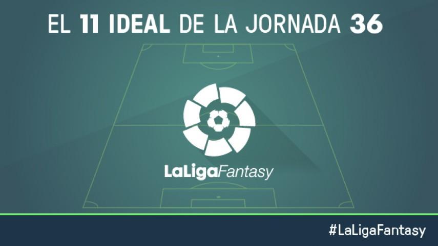 Once ideal de LaLiga Fantasy en la jornada 36