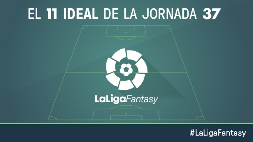 Once ideal de LaLiga Fantasy en la jornada 37