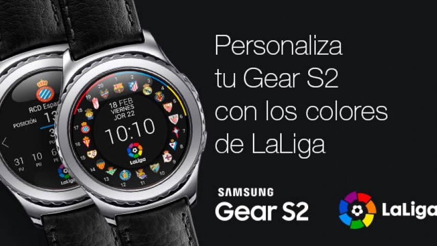 Toda la Liga BBVA en la esfera de tu Samsung Gear S2
