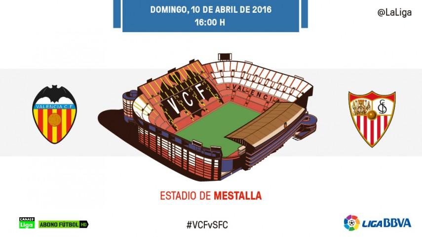 Valencia y Sevilla no quieren dejarse más puntos
