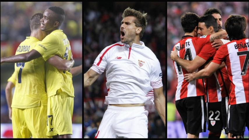 Athletic, Sevilla y Villarreal buscan las semifinales de la UEFA Europa League