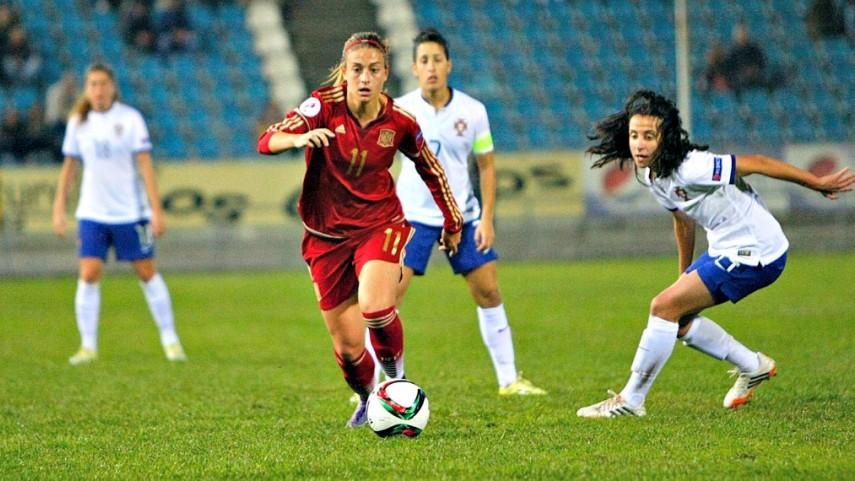 La selección femenina, a dos victorias para soñar con la Euro 2017