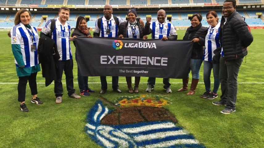 Los fans de la #LigaBBVAExperience, encandilados con San Sebastián y Anoeta