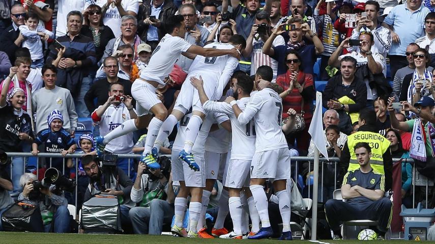Festival de goles en el Santiago Bernabéu