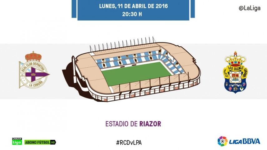 El Deportivo pone a prueba el gran momento de Las Palmas