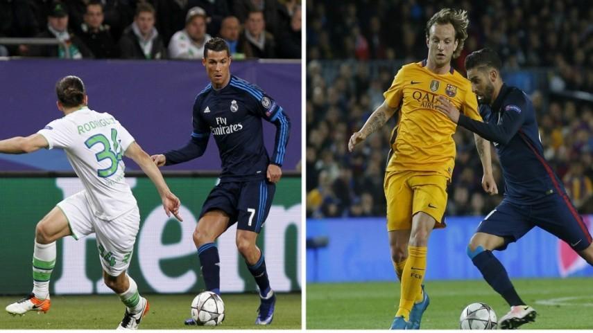 Tres equipos de LaLiga se juegan sus opciones de entrar en semifinales de Champions