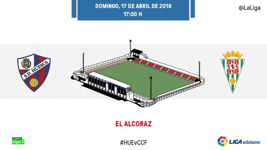 El Córdoba busca su mejor versión ante un necesitado Huesca