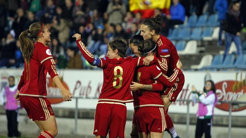 La selección española de fútbol femenino se clasifica para la Euro 2017